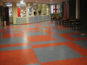 linoleum patroon 1 300x225 - Linoleum patroon van 500m2 in Papendrecht