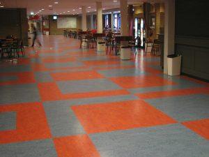 linoleum patroon 300x225 - Linoleum patroon van 500m2 in Papendrecht